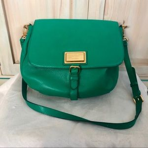 MARC BY MARC JACOBS KELLY GREEN UKITA SHOULDER BAG